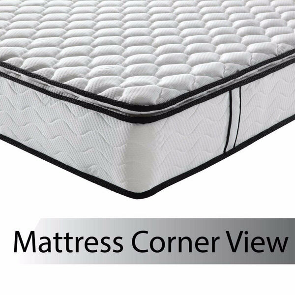 Euro Queen Size Latex Pillowtop Bed Mattress