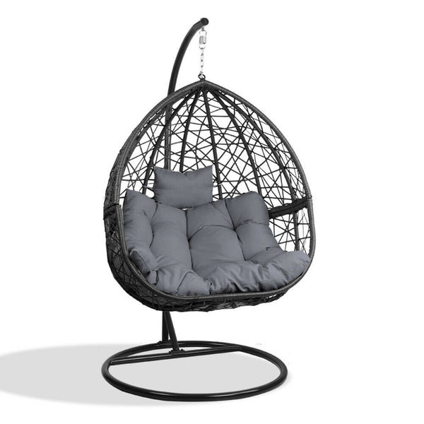 Gordon Black Outdoor Hanging Swing Chair
