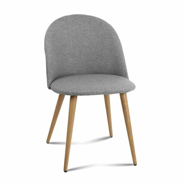 2x Hugo Light Grey Dining Chair