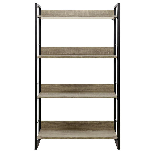 Seno Brown Industrial Book Shelf Storage