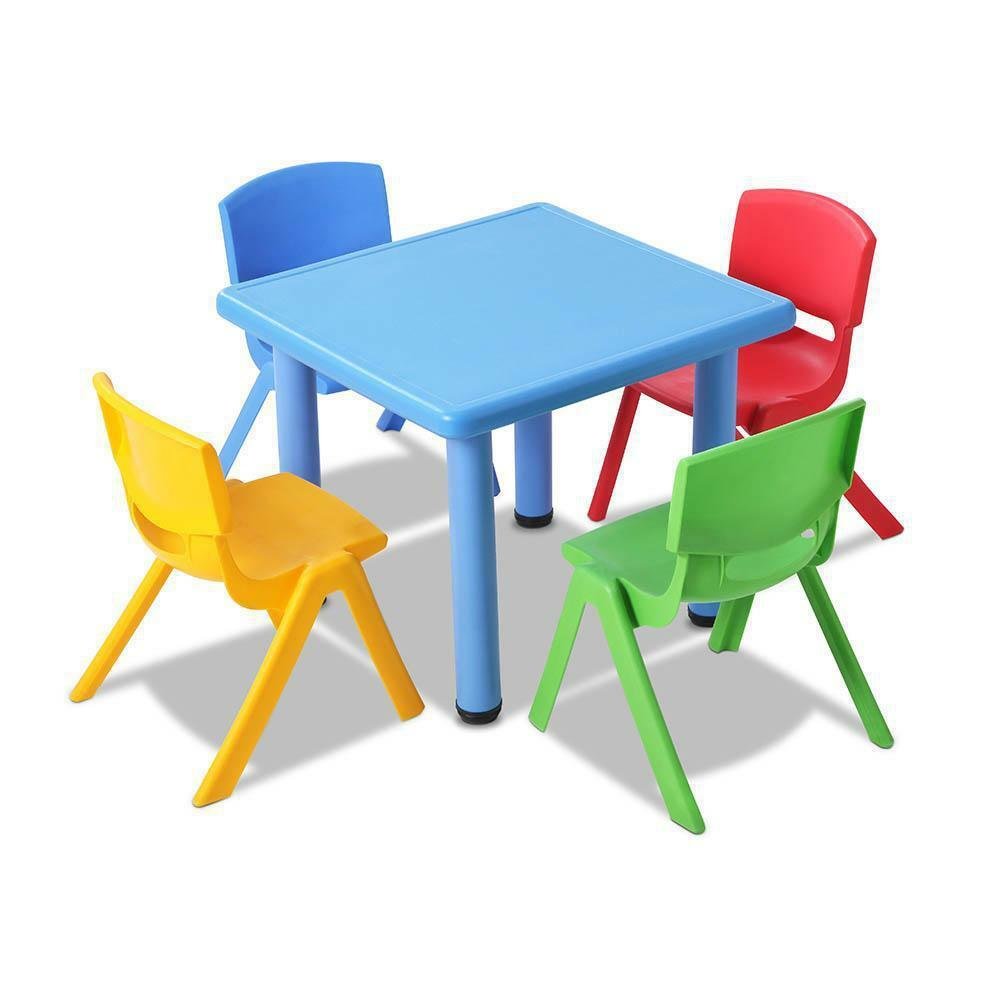 Mailys Kids Colorful Table Chair Set