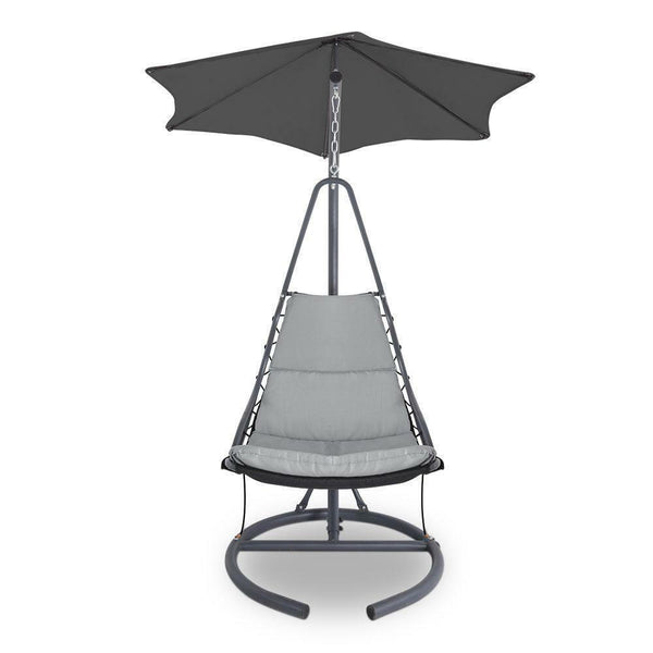 Gordon Outdoor Grey Swing Hammock