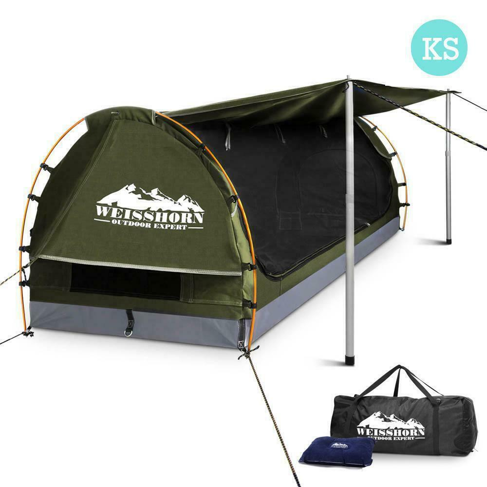Weisshorn King Single Celadon Camping Tent