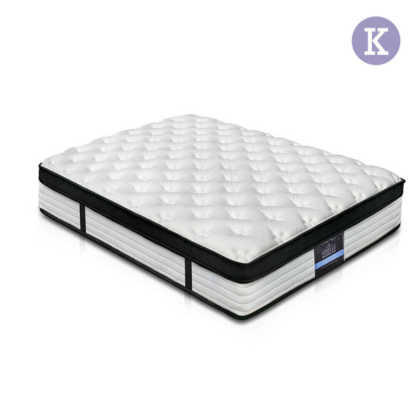 Giselle King Size 31cm Thick Foam Bed Mattress