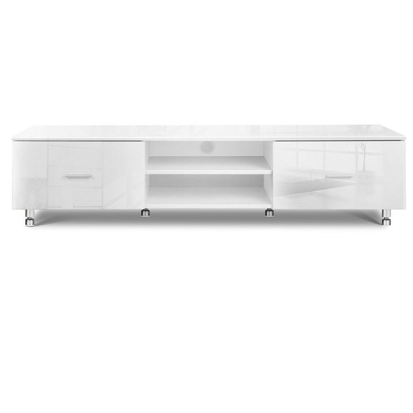 Pozo High Gloss White TV Entertainment Unit