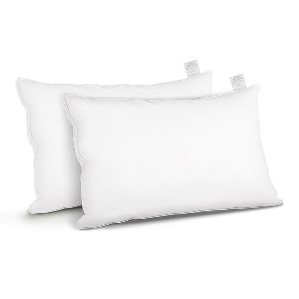 2 Set Of Premium Duck Feather Down Pillow