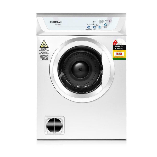 6kg Clothes Tumble Dryer (White)