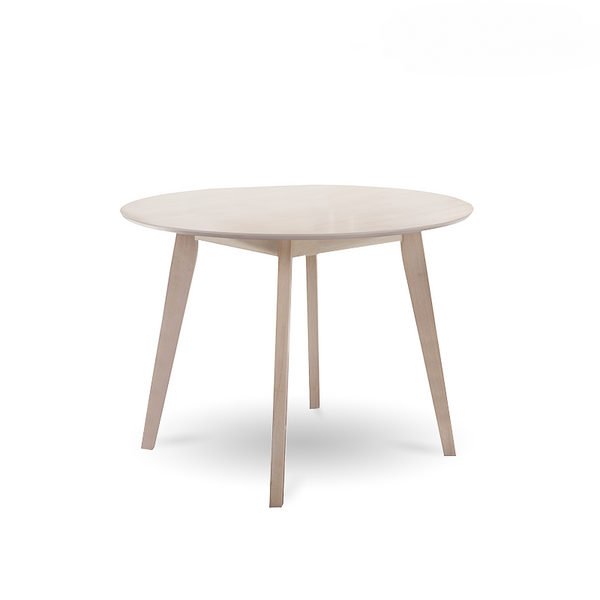 Megano Solid Wood Round Dining Table