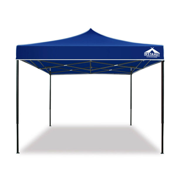 3 x 4.5m Blue Outdoor Gazebo