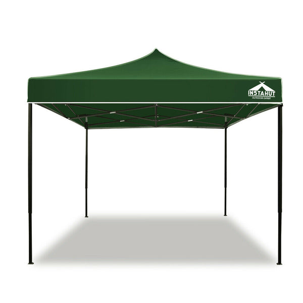 3x3 Outdoor Green Gazebo