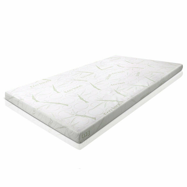 7cm Memory Foam Mattress Topper Bamboo Cover (Queen)