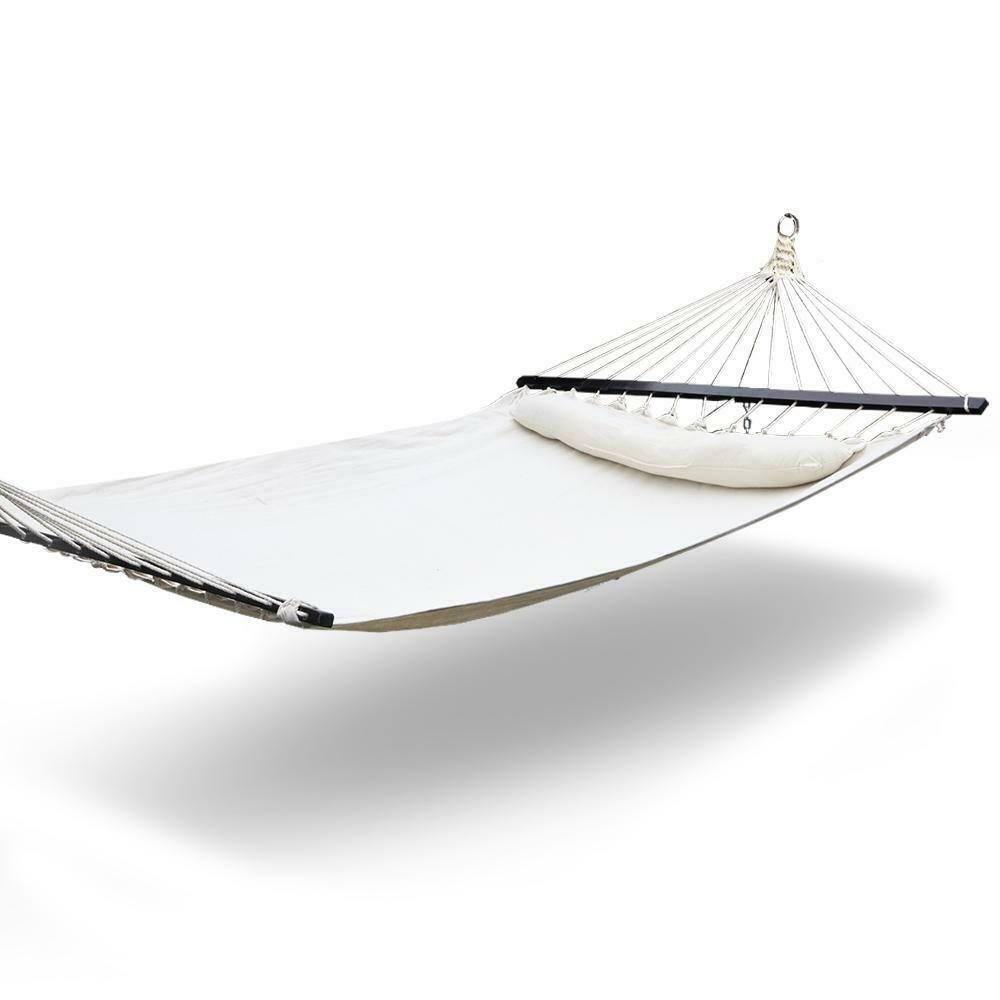 Gordon Cream Double Swing Hammock Bed