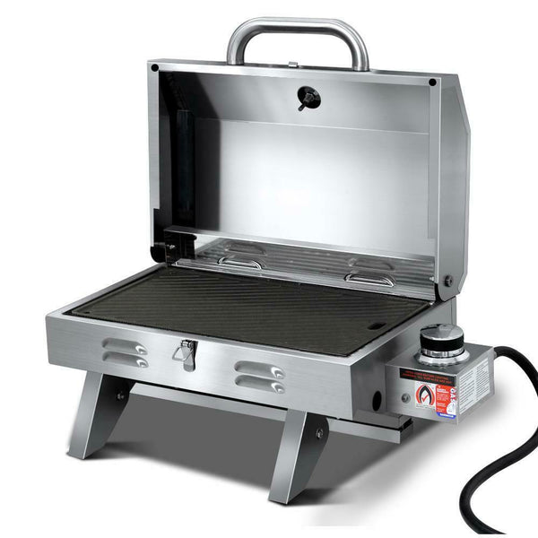 Portable Stainless Steel LPG Gas BBQ Grill