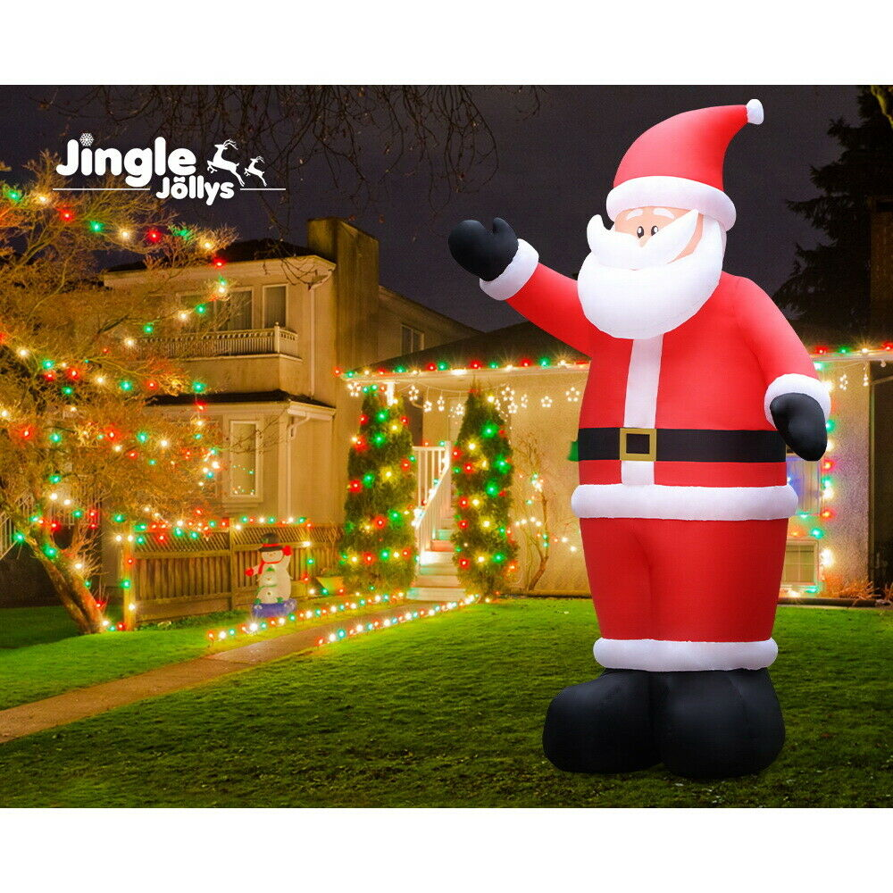 Jingle Jollys 5M Inflatable Christmas Santa