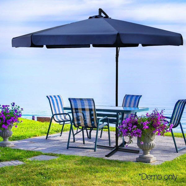 Outdoor Umbrella Sun Shade Navy Blue