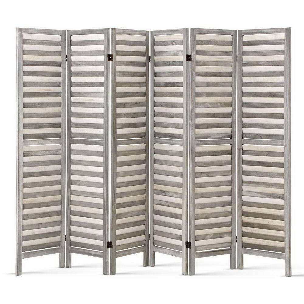 Palero Solid 6 Panel Room Privacy Divider