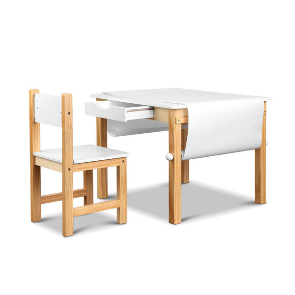 Logan Kids Art Table Chair Set
