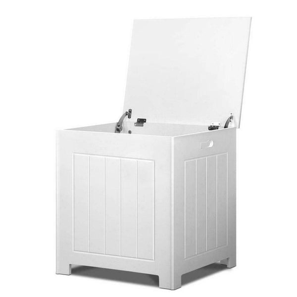 Toy Storage Cabinet White