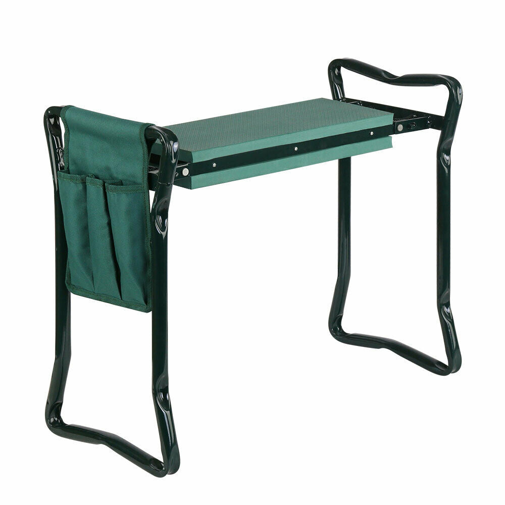 Garden Kneeler Seat Foldable Bench