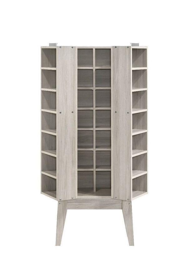 Hano Oak White Large Multimedia Storage Unit