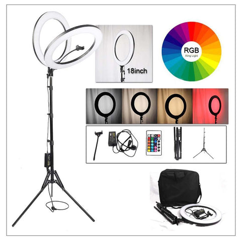 Ring light with tripod stand multi colors ring light price in pakistan online shopping in pakistan