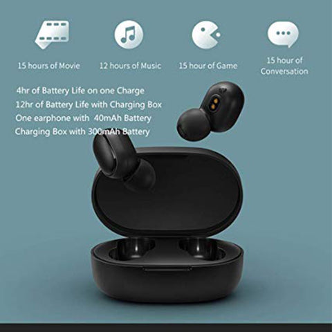buy mi redmi true wireless earbuds bluetooth 5.0 in pakistan. Redmi airdots price in pakistan and reviews. MI true wireless earphones deep bass.