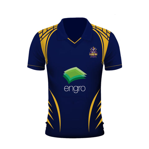 Quetta Gladiators Psl 2020 Official t-shirts for Gladiators fan at this T-20 event and full kit of Quetta Gladiators for its fans. Provided at our best prices for this psl 2020 all over the Pakistan. Quality stuff guranteed with fast delivery. Rhizmall.pk