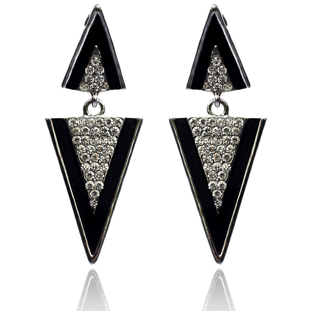 Triangle Prism Egyptian Earring