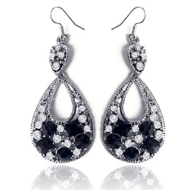 Traditional Crystal Loop Earring - RHIZMALL.PK Online Shopping Store.
