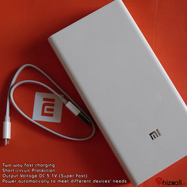 Branded MI 20000mAH Power Bank - RHIZMALL.PK Online Shopping Store.