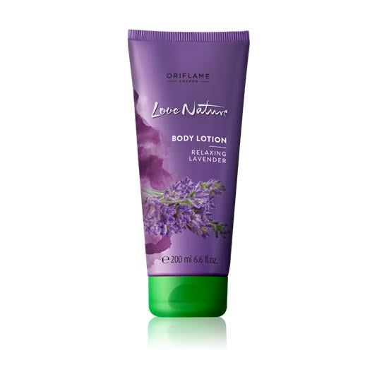 Love Nature Body Lotion with Relaxing Lavender - RHIZMALL.PK Online Shopping Store.