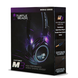 Turtle Beach M3 Silver Gaming Headset with mic