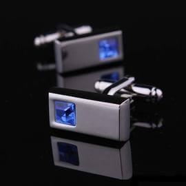 Montblanc Crystal Glass French Style Cufflinks with Free Gift Packaging