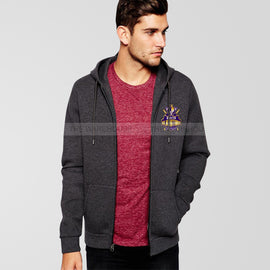 Queta Gladiators Psl Charcoal Grey Zipper Hoodie - RHIZMALL.PK Online Shopping Store.