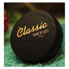 Classic Powder Plus Foundation With Sponge - RHIZMALL.PK Online Shopping Store.
