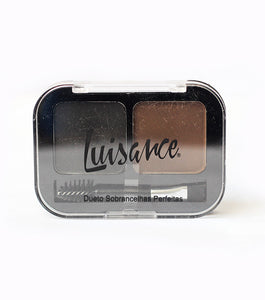 Luisance Two Sahdes Perfect Eyeshadow Kit with Brush - RHIZMALL.PK Online Shopping Store.