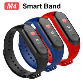 M4  Band Smart water proof Wristband  Heart Rate Fitness Tracker