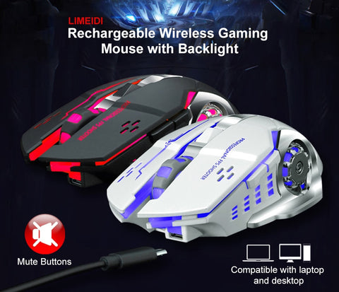 LIMEIDI X1 2.4GHz Wireless Gaming Mouse - RHIZMALL.PK Online Shopping Store.