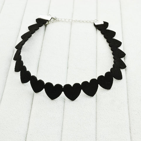 Mini Hearts Choker - RHIZMALL.PK Online Shopping Store.