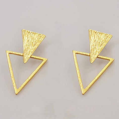 Egyptian Triangle Earring - RHIZMALL.PK Online Shopping Store.
