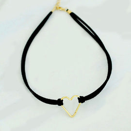 Pair of Heart Choker and Bracelet - RHIZMALL.PK Online Shopping Store.