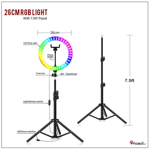rgb ring light in pakistan best rgb ring light price