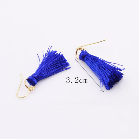 Tassel Drop Earrings - RHIZMALL.PK Online Shopping Store.