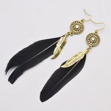 Feather Dangle Earring - RHIZMALL.PK Online Shopping Store.