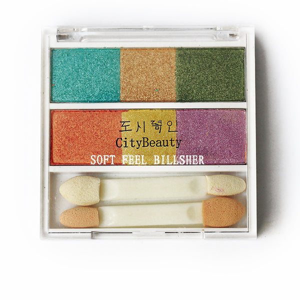 City Beauty 4 Colour Eyeshadow Kit - RHIZMALL.PK Online Shopping Store.