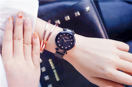 2019 Starry Sky Roman Numerals Women's Watches - RHIZMALL.PK Online Shopping Store.