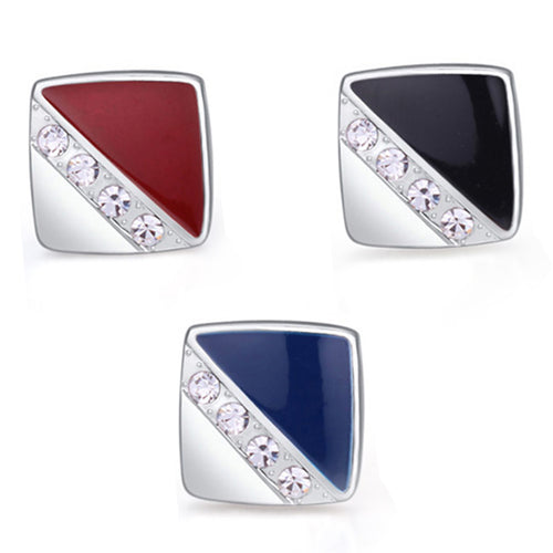 Fabergi Pearl Stainless Steel Cufflink