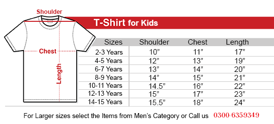 984103ca96a33 Islamabad United Kids Red T-Shirt - RHIZMALL.PK Online Shopping Store.