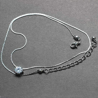 Belize Crystal Fishing Line Necklace - RHIZMALL.PK Online Shopping Store.