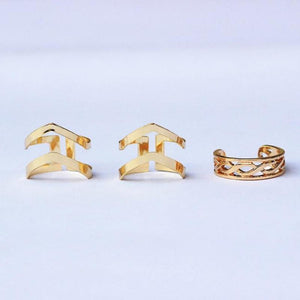 Aqua Gold Finger Rings - RHIZMALL.PK Online Shopping Store.